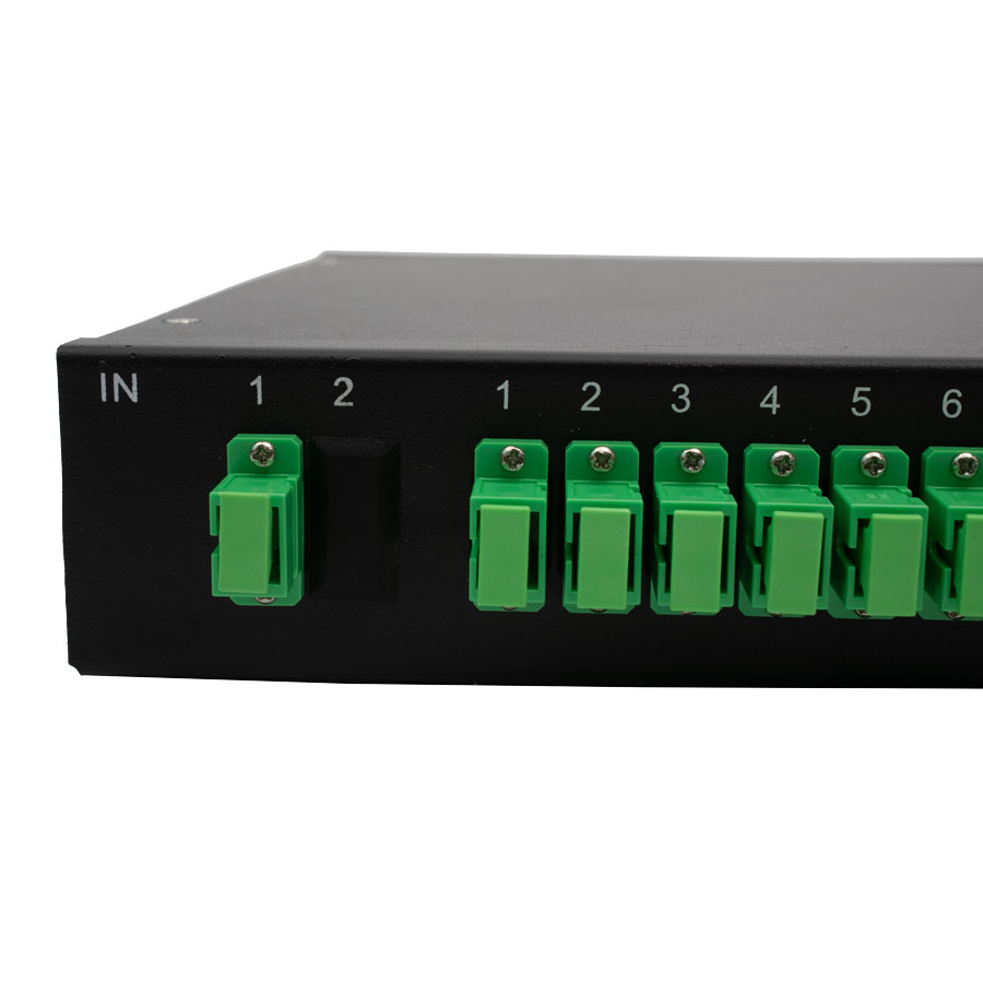 Rack Mount PLC Splitters (PFRACK)