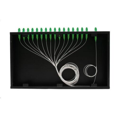 Precision Fiber | Splitters | Rack Mount PLC Splitters (PFRACK)