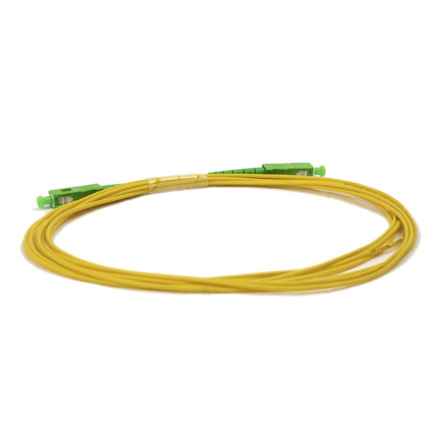PVC Jacket - Singlemode Fiber Optic Patch Cable (PFIJ)