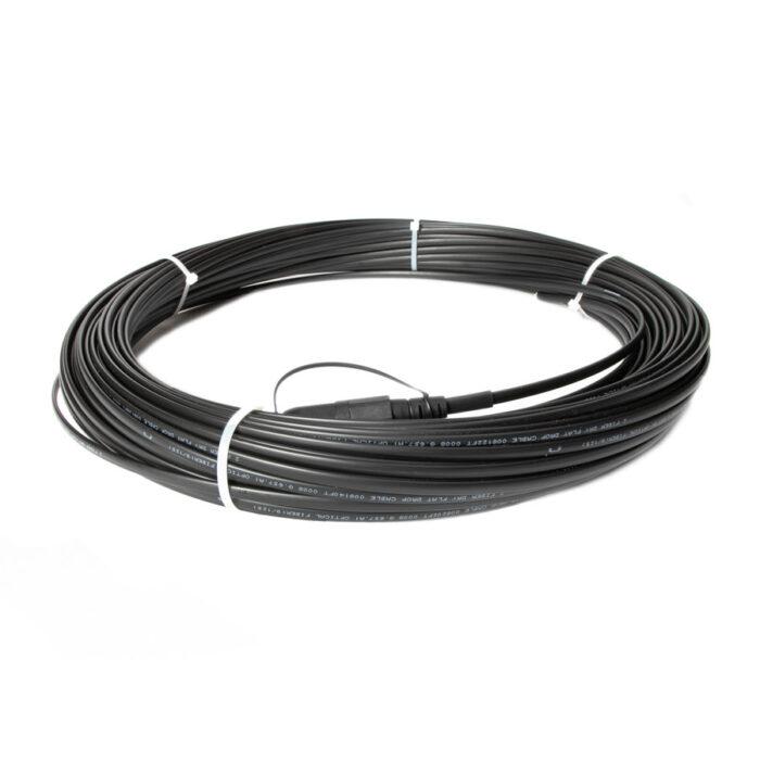 Precision Fiber | Fiber Jumpers | H IP OptiTap™ Compatible Fiber Optic Flat Drop (PFOTC)